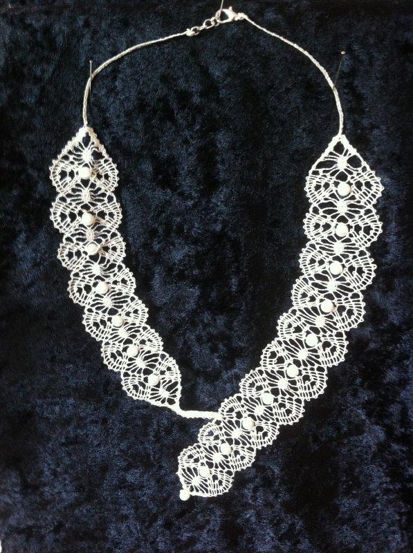 JOCELYNE R.  nouveau bijou, trés agréable à réaliser , avec perles