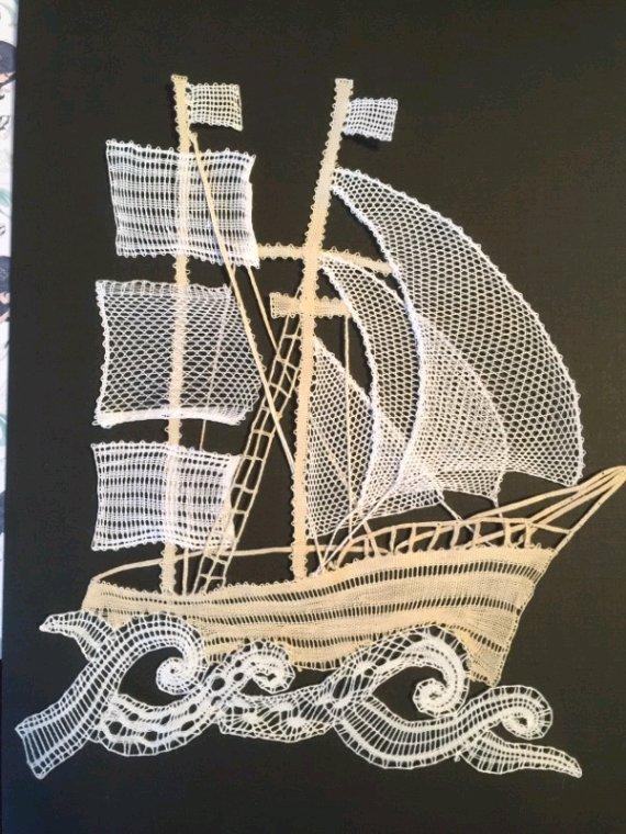ARLETTE quelle merveille ce voilier, c'est la deuxième réalisation exécutée avec succès.