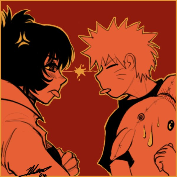 Naruto et Anko :