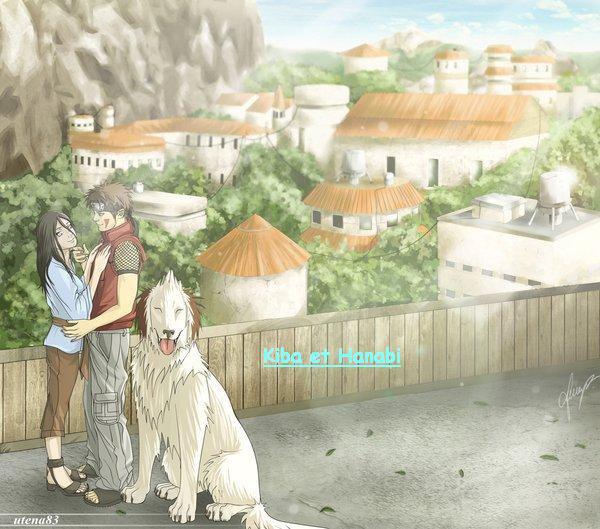 Kiba et Hanabi :
