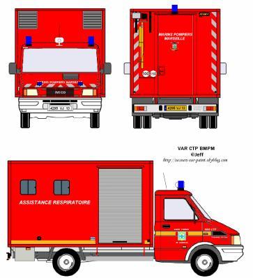 Var ctp 2 bmpm v hicules de secours dessin s sur paint - Comment dessiner un camion de pompier ...