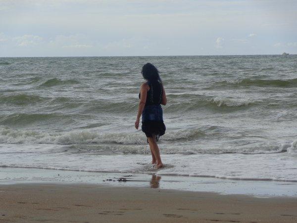 jadmire  laux  et le bruit de la mer