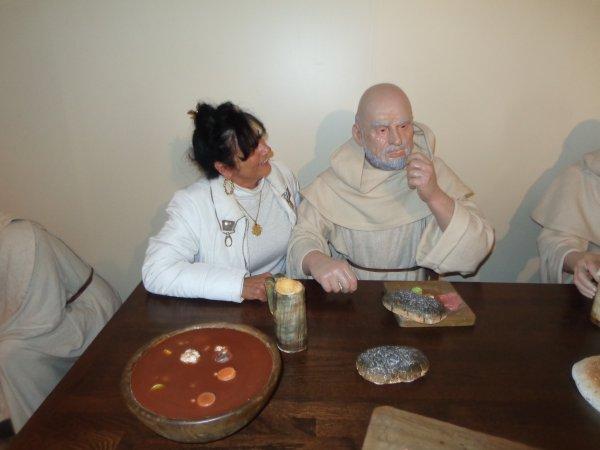 a  discutet  avec  le moine