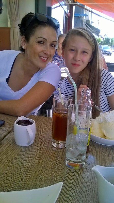 ma filles   et  sa fille