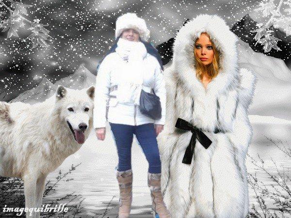 me voila  avec  la reine  des  neige  brrrrrrr