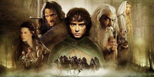 . Le seigneur des anneaux - J.R.R Tolkien .
