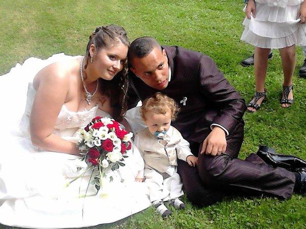 mariage de ma fille et son petit bout