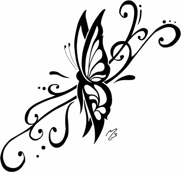 tattoo 1 papillon