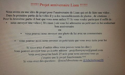 Projet anniv Liam payne 1D 21 ans 1Dfamily