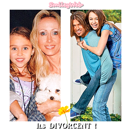 Les parents de Miley veulent divorcer, lisez cet article !!