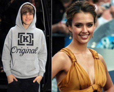 Justin Bieber compare Jessica Alba à la femme de ses rêves