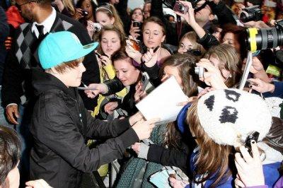 Bieber frôle l'émeute