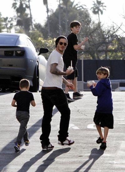 Justine Bieber chez les Beckham?   Romeo Beckham déborde d'imagination pour trouver un prénom à sa future petite s½ur !