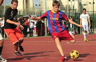 Justin Bieber x FC Barcelona