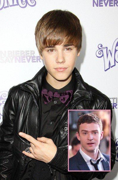 Le modèle de Justin Bieber est... Justin Timberlake