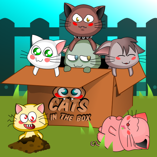 Cats in the box adventures - un jeu adorable et plein de casses têtes!