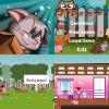 Gratuit, promo du jeu dans Google Play et AppStore