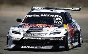 Mazda rx-8 drift trop belle