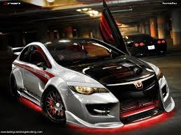 Style set Honda civic en tuninig