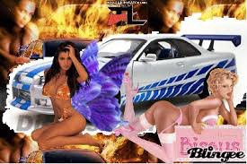 Tres belle skylane gt-r 34 de fast and furious 2