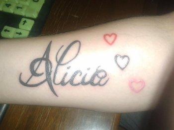 Voilà nos tatouages à mon conjoint et à moi ! <3