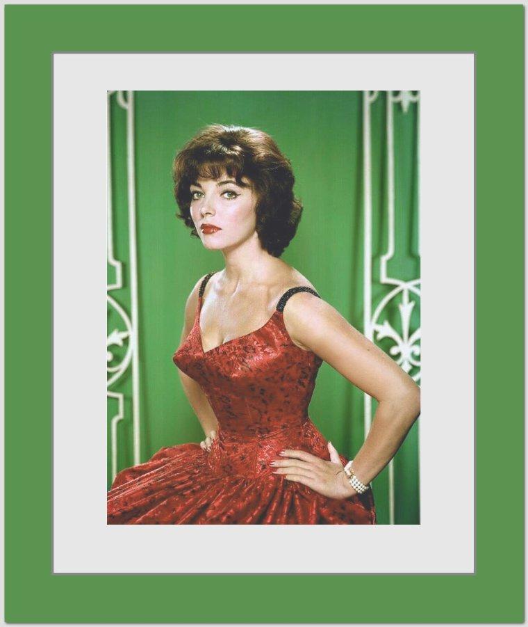 Joan COLLINS // Joan COLLINS Est Une Actrice Anglaise, Née