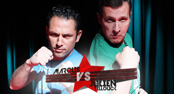 Emission sur Gameone - Marcus vs Julien tellouck