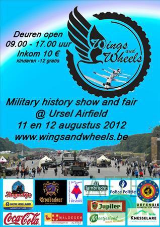 (l) Wings And Wheels  2012 à Ursel ---> Le 11.08.2012 (l)