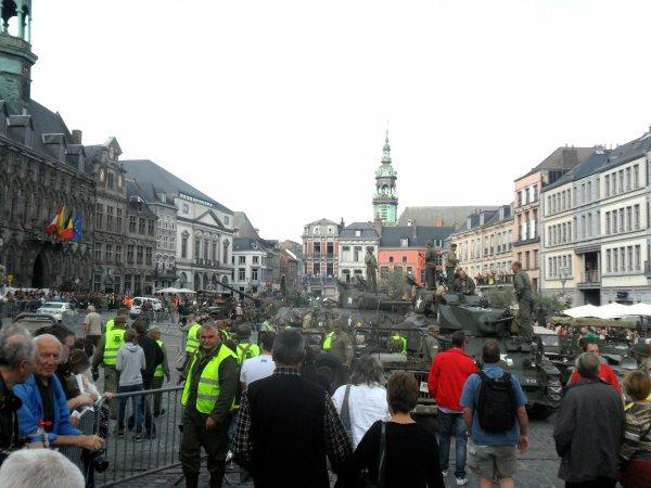 ☆14è Tanks In Town de Mons le 01-09-2013 ☆