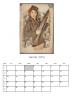 ☆☆ Petit cadeau ... Le calendrier 2014 ... Voici le mois de Janvier ... ☆☆