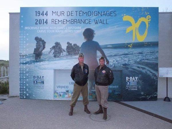 ☆ Éric et Claude - 2014 D-DAY - 70ème Normandie ☆