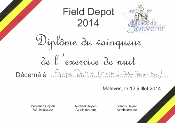 ☆ FIELD DEPOT Malèves le 11-12 et 13 juillet 2014 ☆