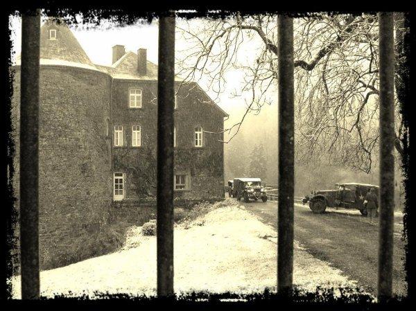 ☆ Bastogne Nuts Day 2014 ... Samedi matin au chateau de Rolley ... ☆