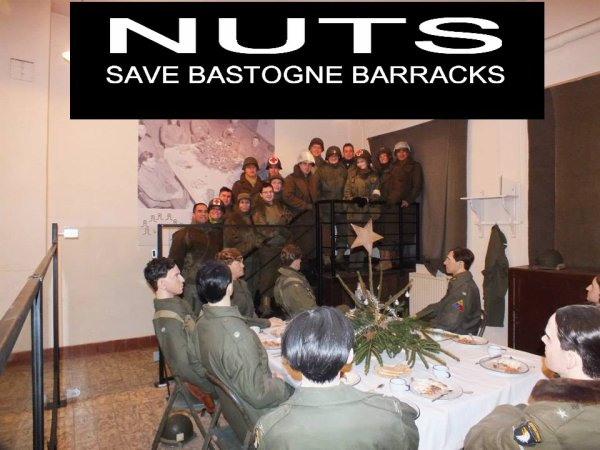 ☆ NUTS SAVE BASTOGNE BARRACKS ☆