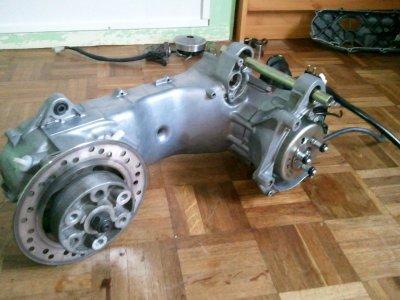 bas moteur nitro