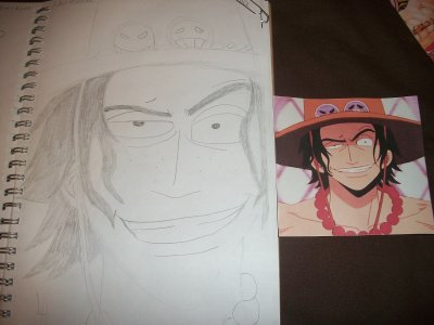Série : Mes dessins (One piece)