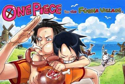 Série: Luffy x Ace (One piece)