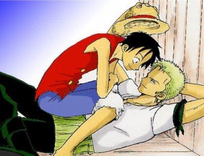 Série: Luffy x Zoro (One piece)
