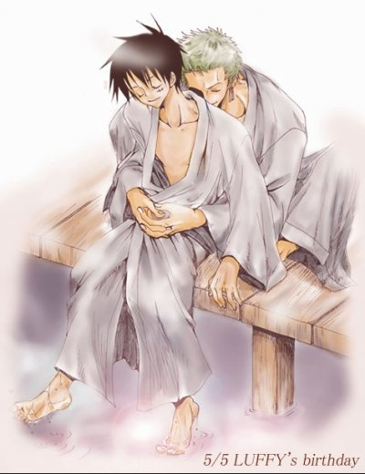 Série: Luffy x Zoro (One piece)