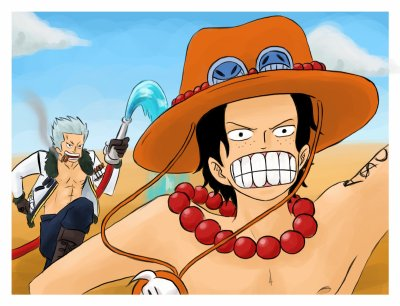 Série: Ace x Smoker (One piece)