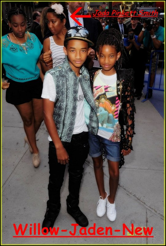 Suite Des Photo De L'avan Premiere De Transformers 3 Avec Willow Et Jaden :D