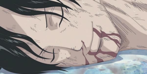 Hommage à Ace [ par Luffy ] & ses dernières paroles