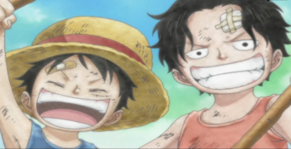 Ace & Luffy Enfants !