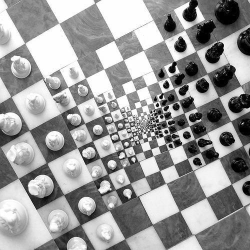 Jeux d'échecs en échec