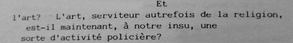 John Cage Journal 1967