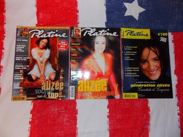 ✘ Magazines - Platine