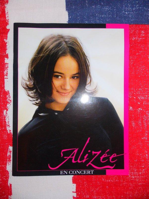 "✘ Programme ""Alizée en concert"" 2003"