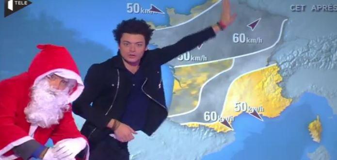 Quand Kev Adams présente la météo sur iTELE ... Regardez !