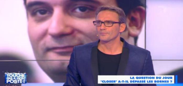 """Près de 1,1 million de personnes pour """"Touche pas à mon poste"""" avec Julien Courbet hier soir sur D8..."""