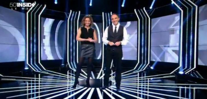 """Nouveau record pour la nouvelle formule de """"50 Min Inside"""" hier soir sur TF1 avec Nikos et Sandrine Quétier..."""